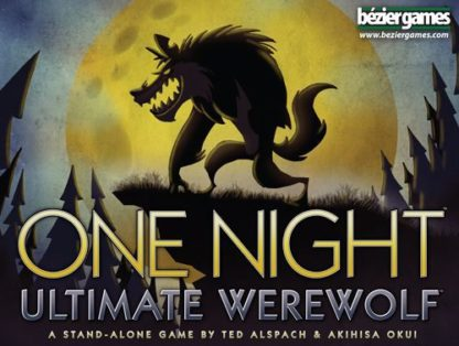 One Night Ultimate Werewolf Party Card Game