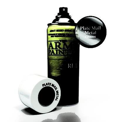 Plate Mail Metal Spray Primer