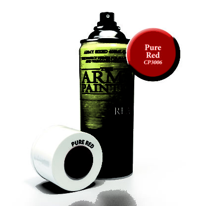 Pure Red Spray Primer