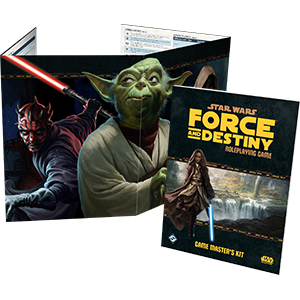 Star Wars Force and Destiny GM Kit RPG