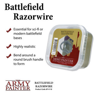 The Army Painter Basing Battlefield Razorwire