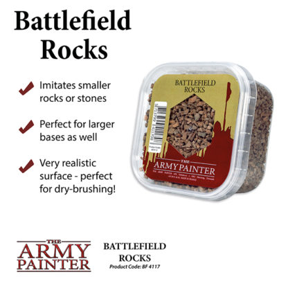 The Army Painter Basing Battlefield Rocks