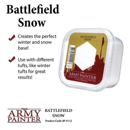 The Army Painter Basing Snow