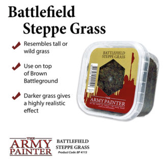 The Army Painter Basing Steppe Grass