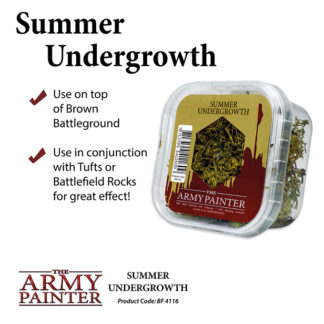 The Army Painter Basing Summer Undergrowth