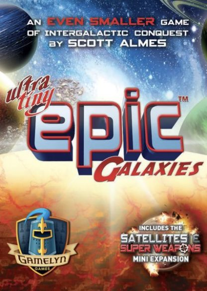Ultra-Tiny Epic Galaxies Card Board Game