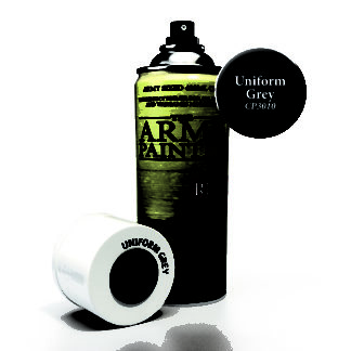 Uniform Grey Spray Primer