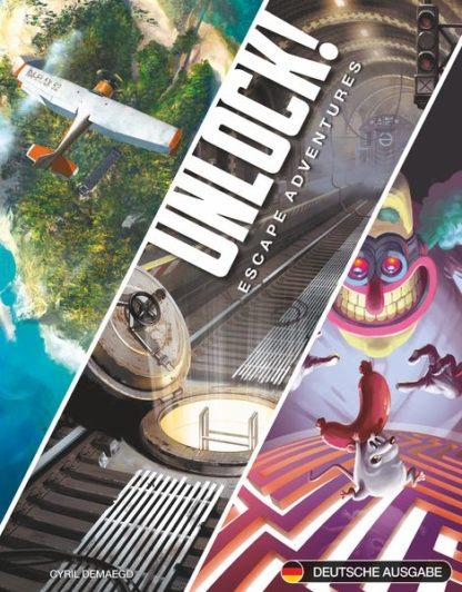 Unlock! Escape Adventures Party Board Game