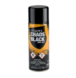 Games Workshop Chaos Black Spray