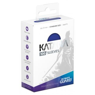 katana-sleeves-standard-size Blue