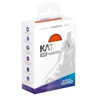 katana-sleeves-standard-size Orange