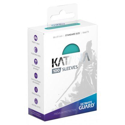 katana-sleeves-standard-size-Turquoise