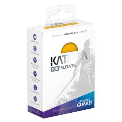 katana-sleeves-standard-size Yellow