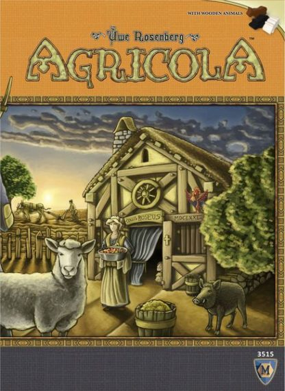 Agricola Revised Edition Board Game