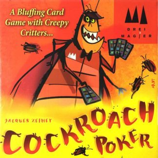 Cockroach Poker Board Party Game