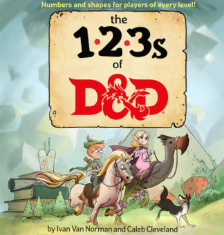 Dungeons and Dragons 123s of D&D Children's Book