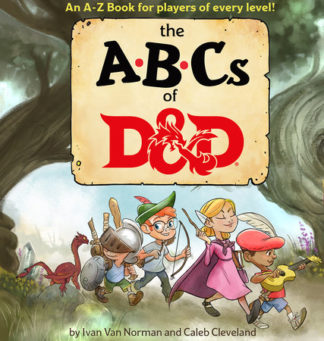 Dungeons and Dragons ABCs of D&D Children's Book