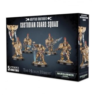 Games Workshop Adeptus Custodes Custodian Guard Squad
