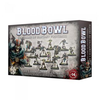Games Workshop The Champions of Death Shambling Undead Blood Bowl Team