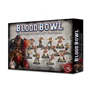 Games Workshop The Doom Lords Chaos Chosen Blood Bowl Team
