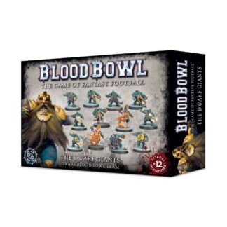Games Workshop The Dwarf Giants Dwarf Blood Bowl Team