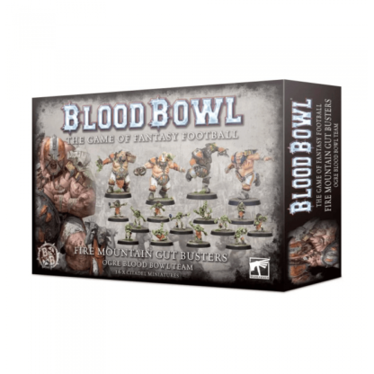 Games Workshop The Fire Mountain Gut Busters Blood Bowl Team