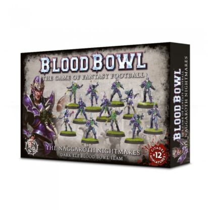 Games Workshop The Naggaroth Nightmares Dark Elf Blood Bowl Team