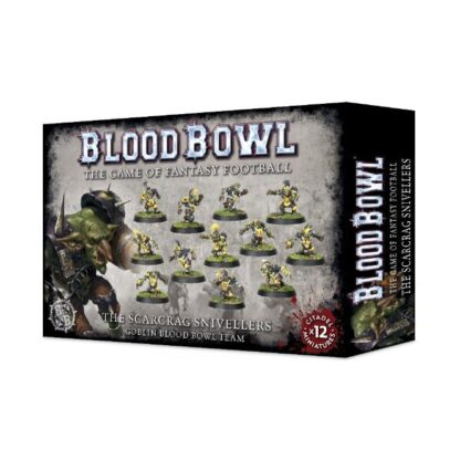 Games Workshop The Scarcrag Snivellers Goblin Blood Bowl Team