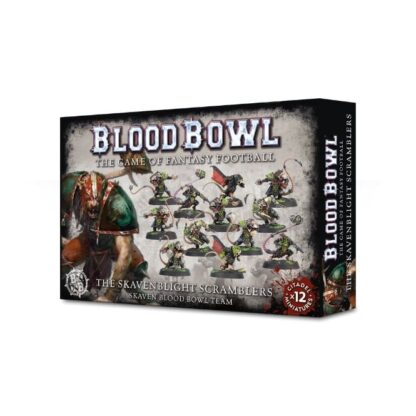 Games Workshop The Skavenblight Scramblers Skaven Blood Bowl Team