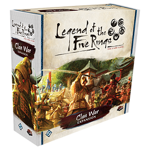 Legend of the Five Rings The Card Game Clan War Expansion