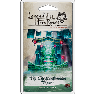 Legend of the Five Rings The Card Game The Chrysanthemum Throne