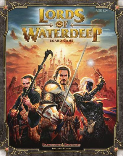 Lords of Waterdeep D&D Board Game