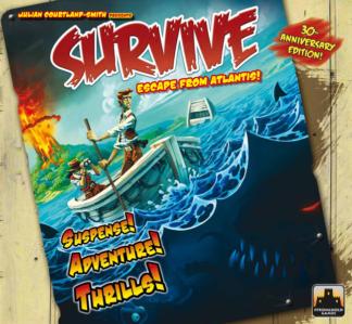 Survive Escape from Atlantis! Board Game
