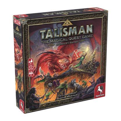 Talisman 4th Edition Board Game