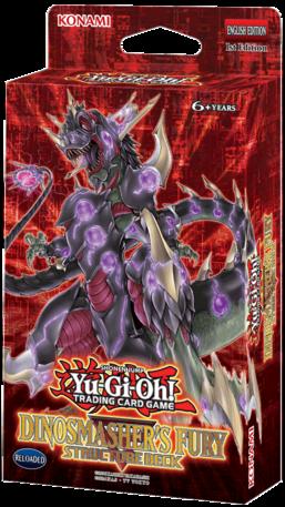 Yu-Gi-Oh Dinosmasher's Fury Structure Deck