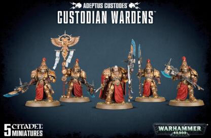 Games Workshop Adeptus Custodes Custodian Wardens