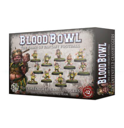 Games Workshop The Greenfield Grasshuggers Halfling Blood Bowl Team