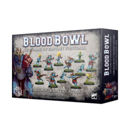 Games Workshop Gwaka'moli Crater Gators Lizardmen Blood Bowl Team