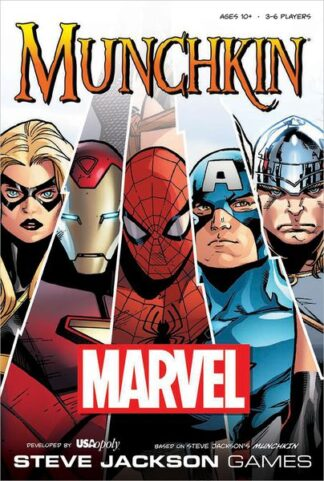 Munchkin Marvel Board Game