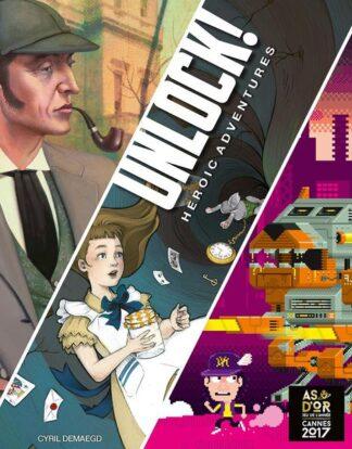 Unlock! Heroic Adventures Board Game