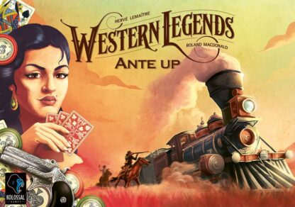 Western Legends Ante Up Board Game Expansion