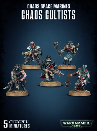 Games Workshop Chaos Space Marines Chaos Cultists
