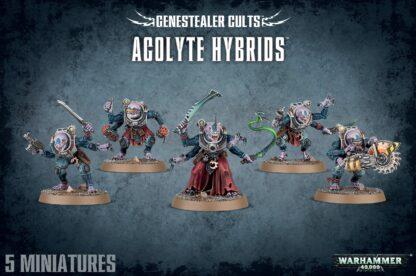Games Workshop Genestealer Cults Acolyte Hybrids