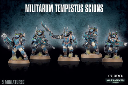 Games Workshop Astra Militarum Tempestus Scions