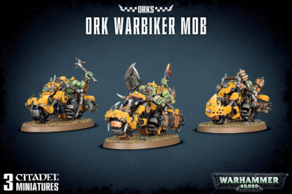 Games Workshop Ork Warbiker Mob