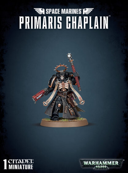 Games Workshop Space Marines Primaris Chaplain