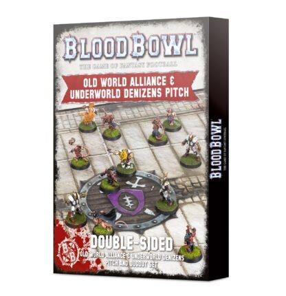 Games Workshop Old World Alliance & Underworld Denizens Pitch and Dugout Set