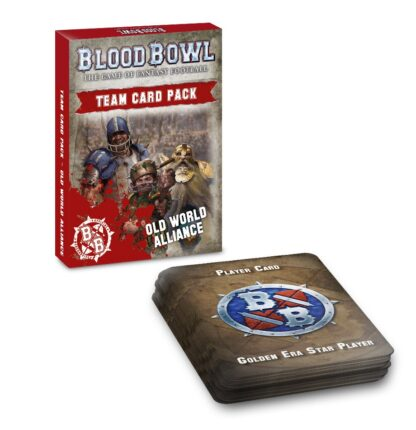 Games Workshop Blood Bowl Old World Alliance Team Card Pack
