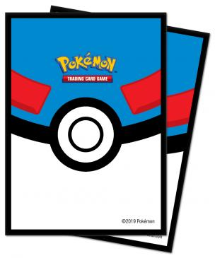Great Ball Deck Protector sleeve for Pokemon