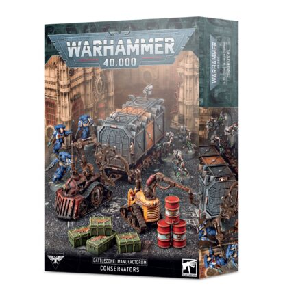 Games Workshop Battlezone Manufactorum Conservators